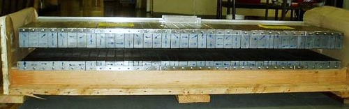 Linear Halbach Array Assembly for Maglev Train